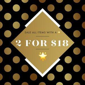 🌟Sale 2/$18, 3/$25